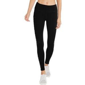 Jessica Simpson The Warm Up Black  Leggings Tights